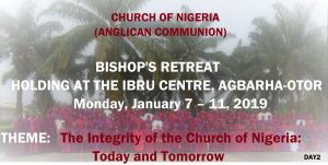 The Rt. Rev. Dr Cyril Odutemu bishop of the Diocese of Ughelli