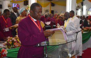 His Grace, The Most Revd. Nicholas D. Okoh