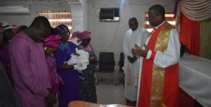 Primate of all Nigeria@Baptism