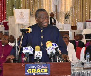 Dr. Goodluck Ebele Jonathan3rd Session of the 10th Synod